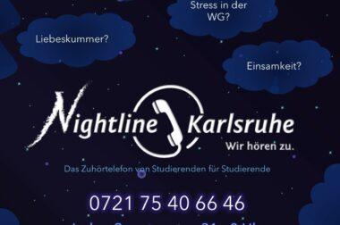 Nightline Karlsruhe – ein vertrauliches und anonymes Telefonangebot von Studierenden für Studierende